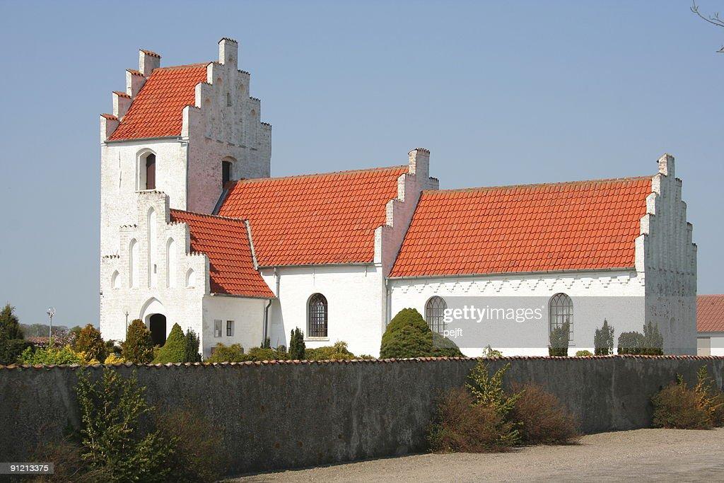 Village parish church : Stock Photo