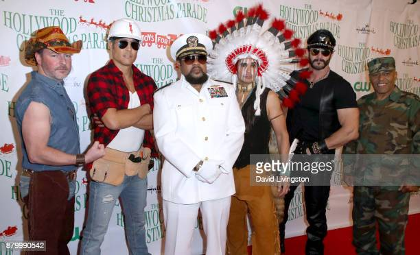 Village People at 86th Annual Hollywood Christmas Parade on November 26 2017 in Hollywood California