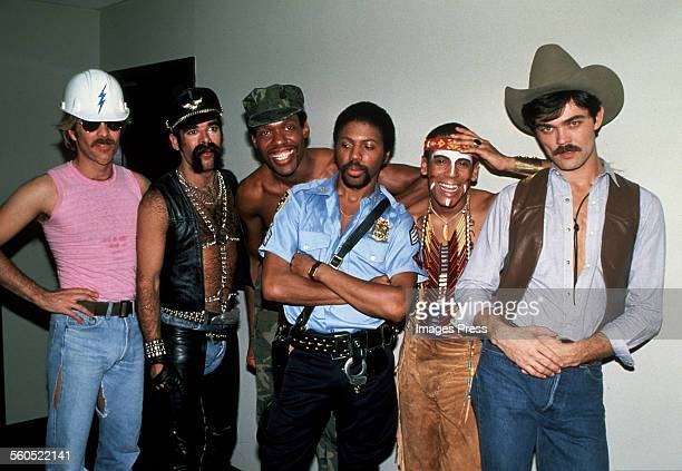 Village People circa 1979 in New York City