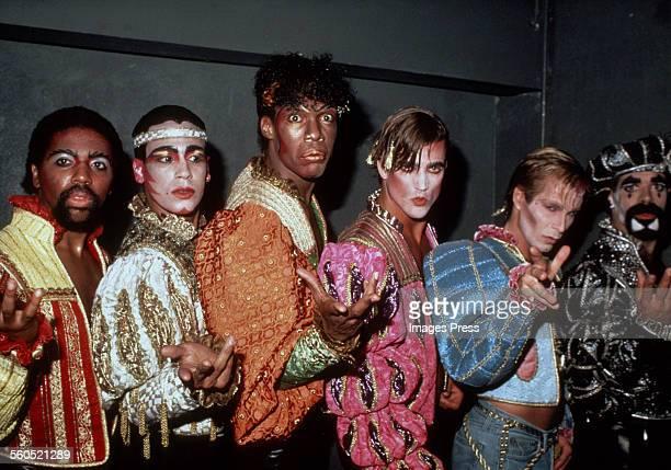 Village People circa 1981 in New York City