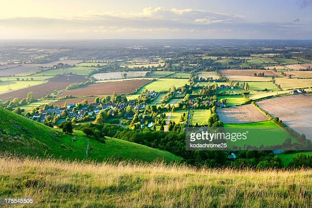 village - sussex stock pictures, royalty-free photos & images