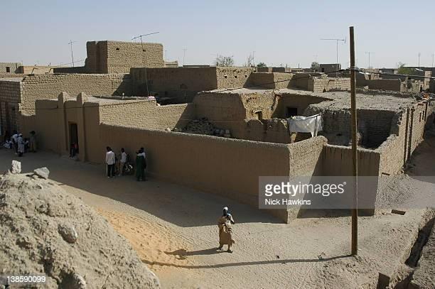 Village scene Timbuktu Mali