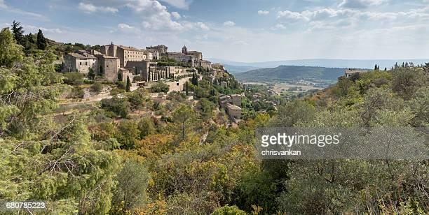 Village skyline, Gordes, Cote d'Azur, France