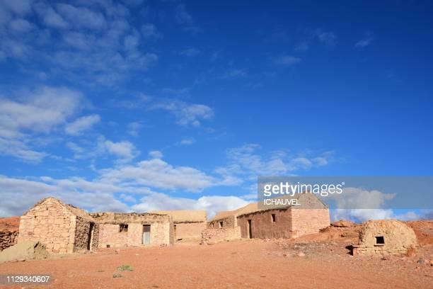 village south lipez bolivia - tour structure bâtie stock pictures, royalty-free photos & images