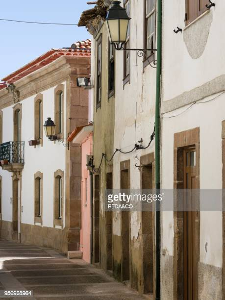 Village Vila Flor located on the hills high above river Douro The valley of river Douro It is the wine growing area Alto Douro and listed as UNESCO...
