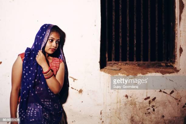 Village Woman Posing