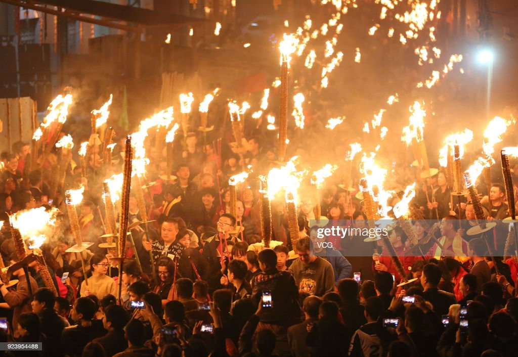 Torch Festival In Jinjiang