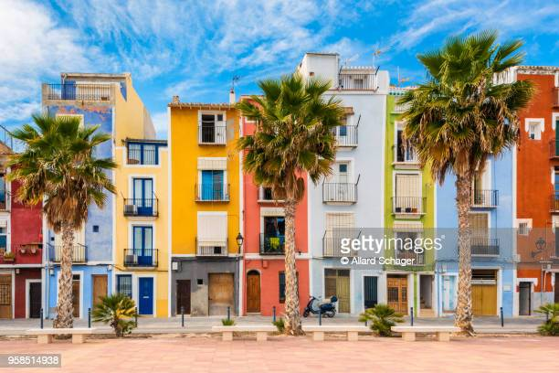 villajoyosa spain - valencia spain stock pictures, royalty-free photos & images