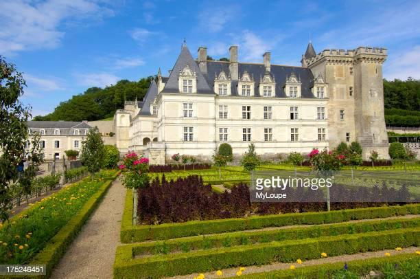 Villandry castle and gardens Chateau de Villandry IndreetLoireTouraine Loire Valley France