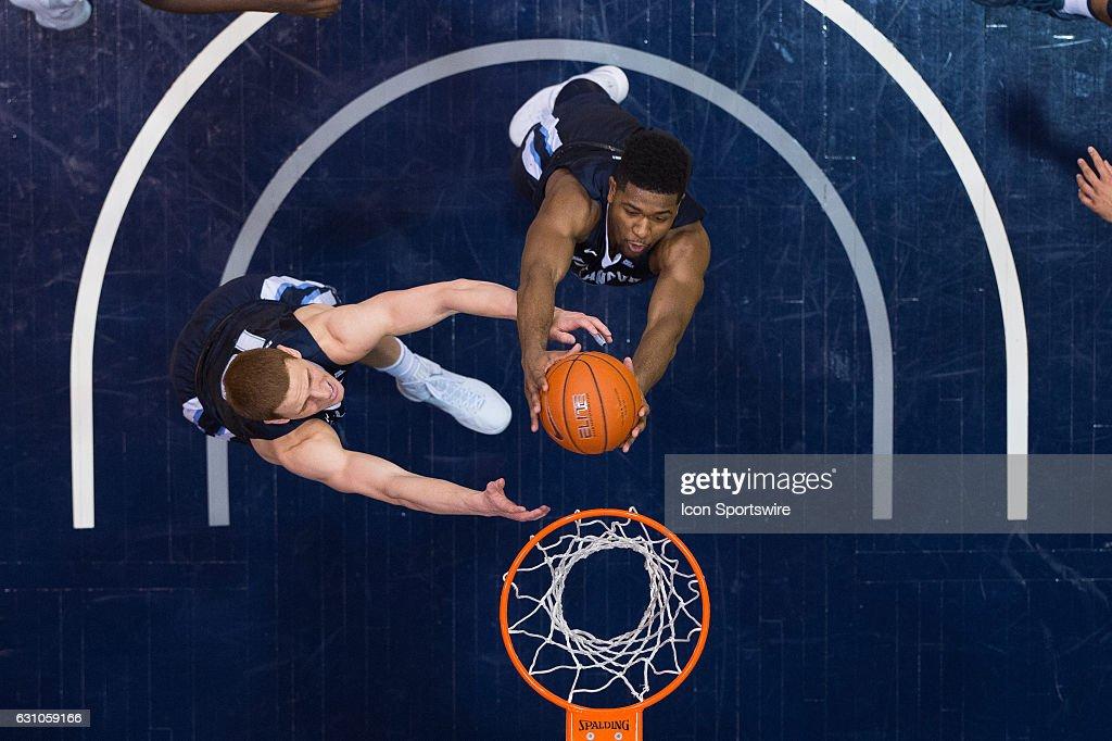 NCAA BASKETBALL: JAN 04 Villanova at Butler : Fotografia de notícias