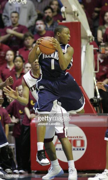 Villanova's Kyle Lowry had 15 points as the ranked Villanova Wildcats defeated the Temple Owls 75 to 53 at the Palestra in Philadelphia, Pennsylvania...