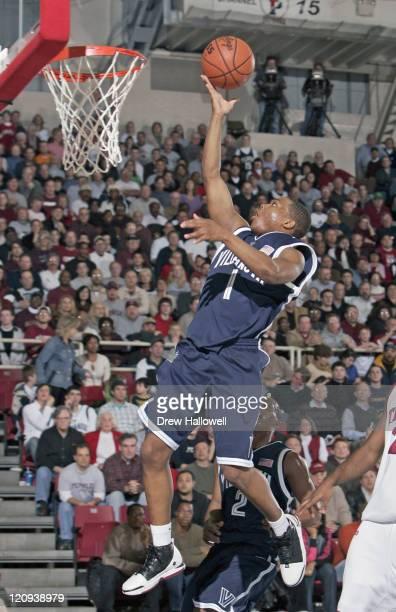 Villanova's Kyle Lowry puts in a layup Saturday December 31 2005 at The Palestra in Philadelphia PA Villanova University defeated Temple University...