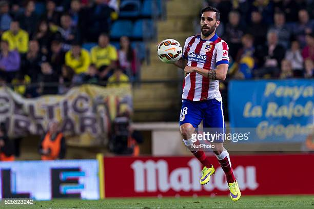 Villarreal Castellon Spain 18 Jesus Gamez Duarte of At Madrid during La Liga match between Villarreal cf and Atletico de Madrid at El Madrigal...