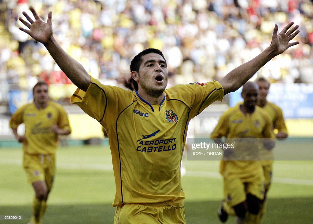 Villarreal's Argentinian Roman Riquelme : News Photo