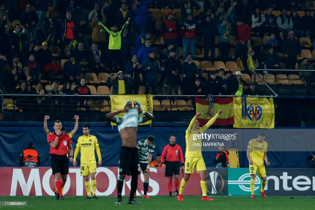 FBL-EUR-C3-VILLARREAL-SPORTING : News Photo