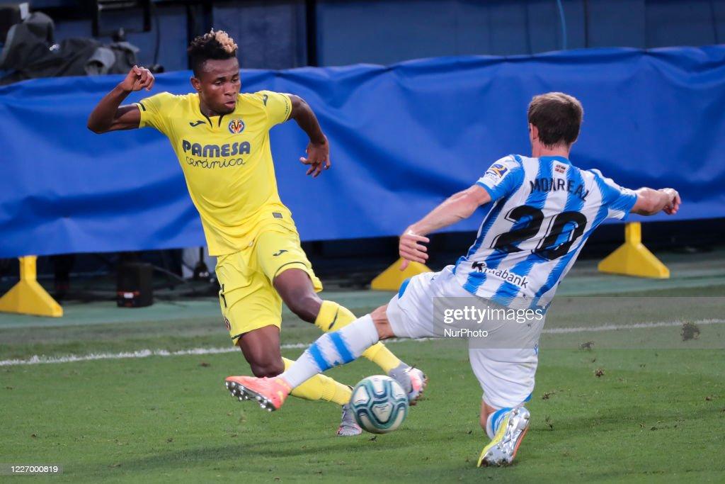 Villarreal CF v Real Sociedad - La Liga Santander : ニュース写真
