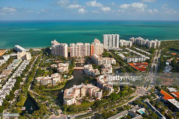 villas at key biscayne, florida - キービスケイン ストックフォトと画像