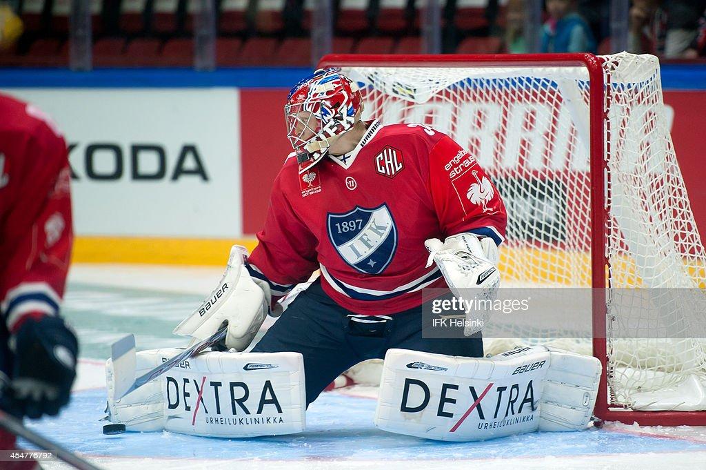 IFK Helsinki v Sonderjyske Vojens - Champions Hockey League : News Photo