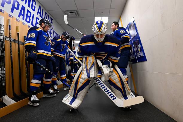MO: Los Angeles Kings v St Louis Blues