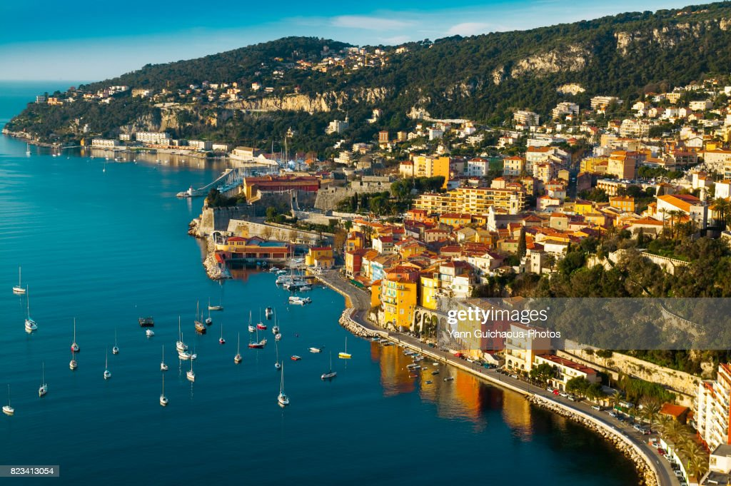 Villefranche sur Mer, Alpes Maritimes, France : Stock Photo