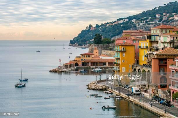 villefranche sur mer, alpes maritimes, france - provence alpes cote d'azur stock pictures, royalty-free photos & images