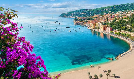 Villefranche sur Mer, French Riviera coast 1127283516