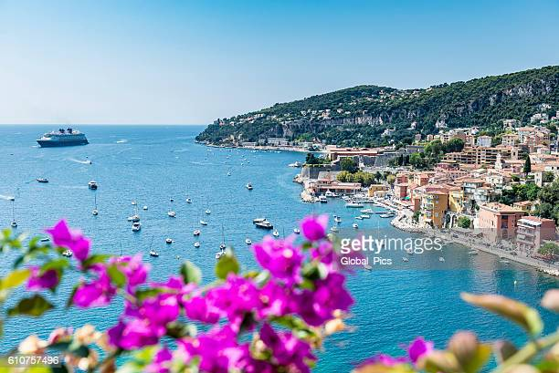 villefranche-sur-mer, france - alpes maritimes stock pictures, royalty-free photos & images