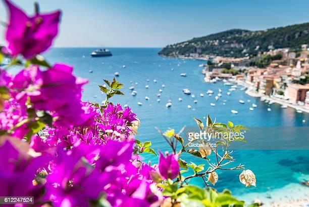 villefranche-sur-mer, france - côte d'azur photos et images de collection