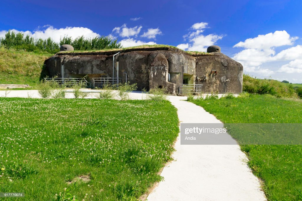 Remains of the Maginot Line. : News Photo