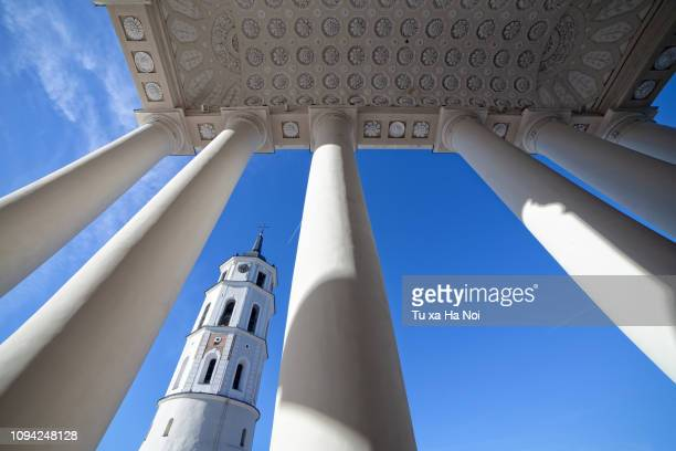 vilnius autumn sky - lithuania stock pictures, royalty-free photos & images