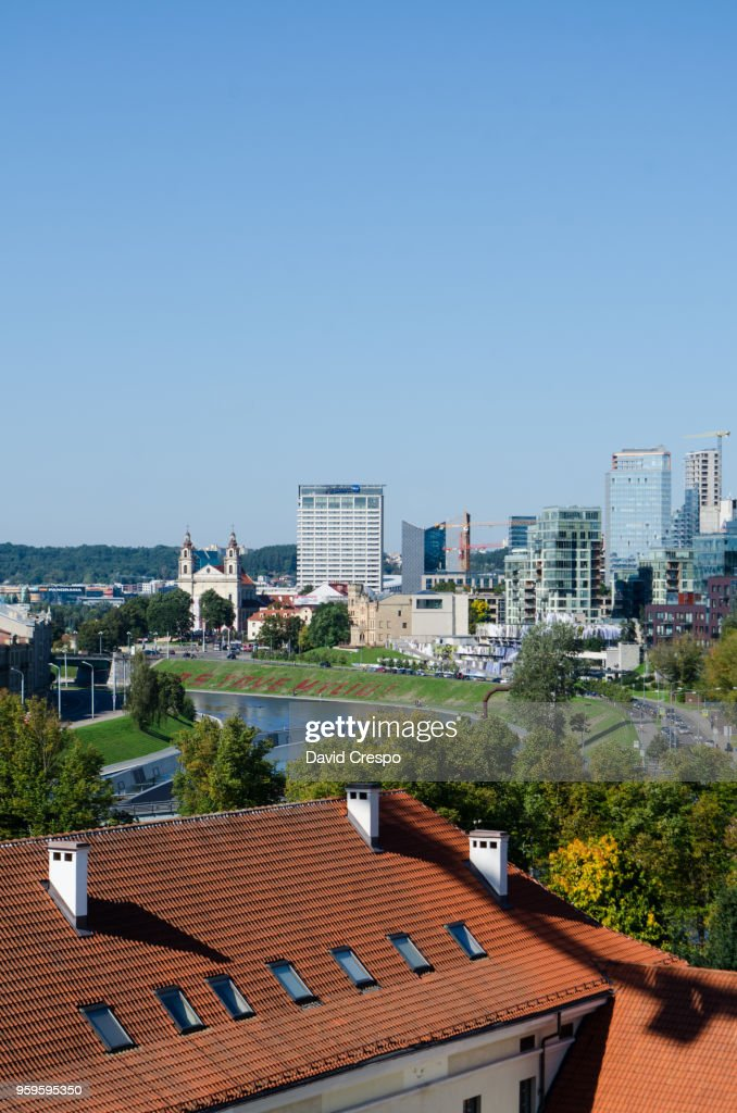 Vilnius Financial Centre : Stock-Foto