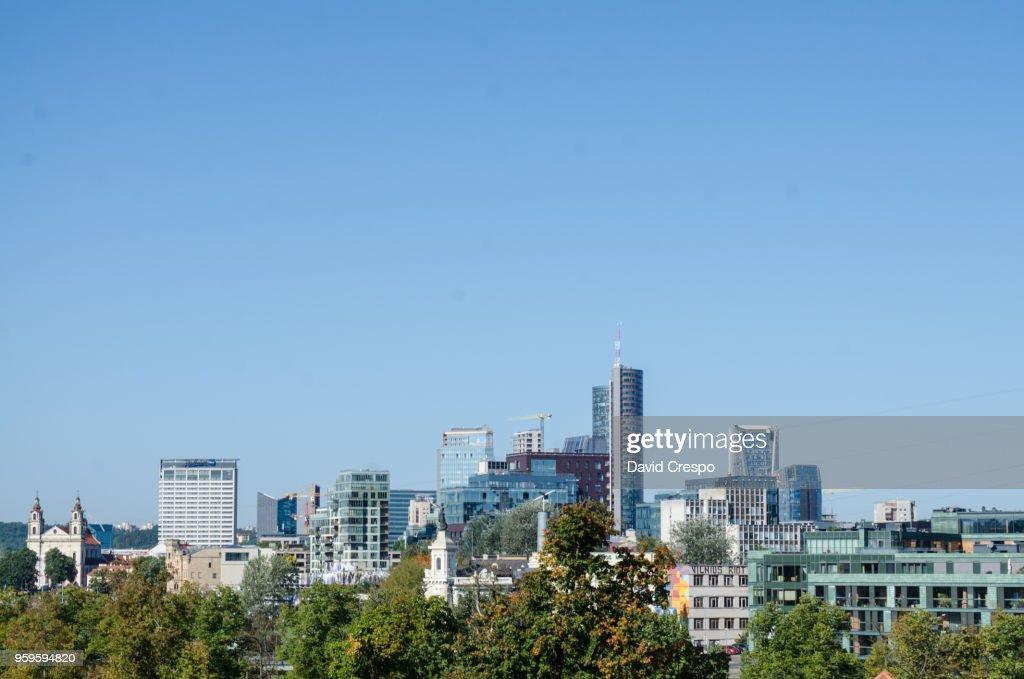 Vilnius skyline : Stock-Foto