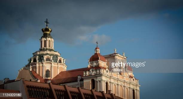 vilnius. st. casimir - vilnius stock pictures, royalty-free photos & images