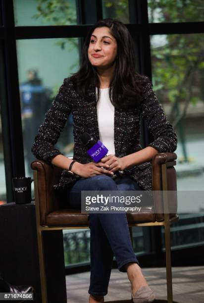 Vimeo CEO Anjali Sud attends Build Series to discuss Yahoo Finance Breakout Breakfast at Build Studio on November 8 2017 in New York City