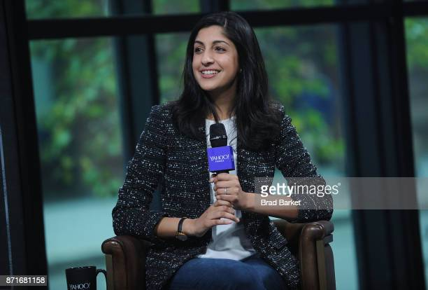 Vimeo CEO Anjali Sud attends the Yahoo Finance Breakout Breakfast at Build Studio on November 8 2017 in New York City