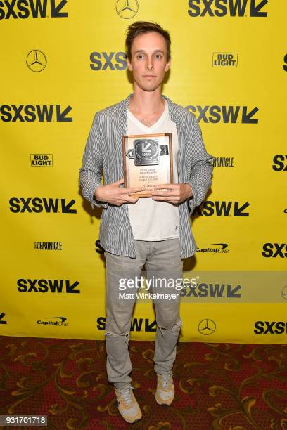 Vimeo Staff Picks Award winner Danny Madden attends the SXSW Film Awards Show 2018 SXSW Conference and Festivals at Paramount Theatre on March 13...