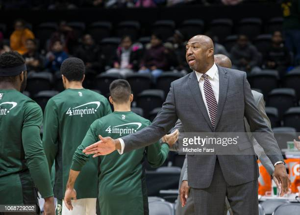 Vin Baker of the Wisconsin Herd during the game against the Long Island Nets during an NBA GLeague game on December 4 2018 at NYCB Live Home of the...