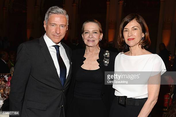 Vin Cipolla, Adele Chatfield-Taylor, and Celine McDonald attend The Municipal Art Society of New York 2016 Jacqueline Kennedy Onassis Medal at The...
