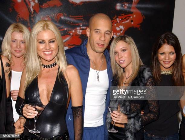 Vin Diesel at the R.U.S.I. In Whitehall, London at a party following the gala premiere of the film xXx.