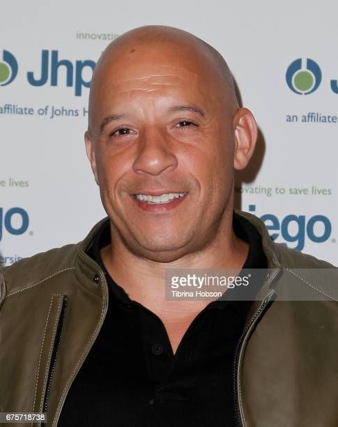 Vin Diesel attends Jhpiego's 'Laughter Is The Best Medicine' Gala at the Beverly Wilshire Four Seasons Hotel on May 1 2017 in Beverly Hills California