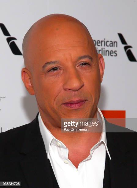 Vin Diesel attends the 45th Chaplin Award Gala at Alice Tully Hall Lincoln Center on April 30 2018 in New York City