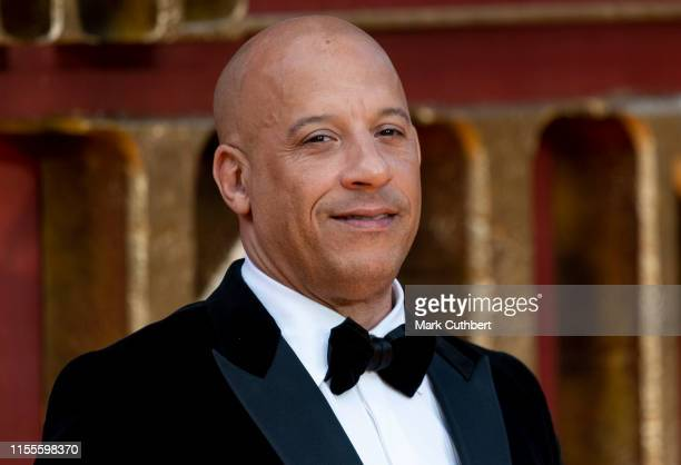 "Vin Diesel attends ""The Lion King"" European Premiere at Leicester Square on July 14, 2019 in London, England."
