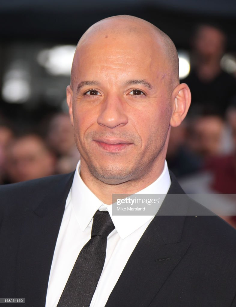 Vin Diesel attends the World Premiere of 'Fast & Furious 6' at Empire Leicester Square on May 7, 2013 in London, England.