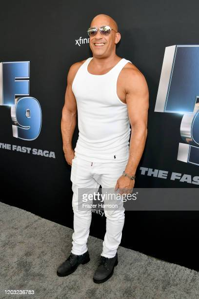Vin Diesel attends Universal Pictures Presents The Road To F9 Concert and Trailer Drop on January 31, 2020 in Miami, Florida.