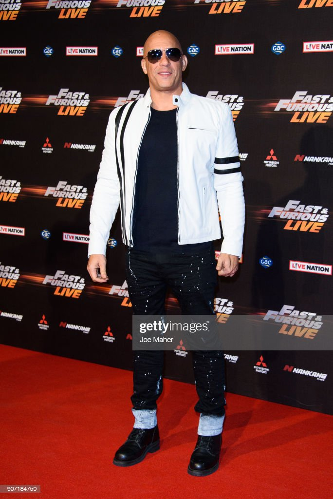 'Fast & Furious Live' Premiere At The O2 Arena London