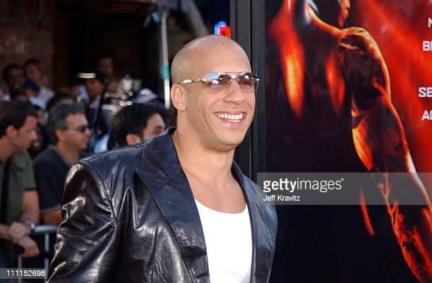 Vin Diesel during 'XXX' Los Angeles Premiere in Westwood California United States