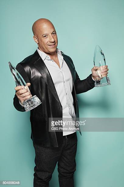 Vin Diesel visits the CBS Photo Booth during the PEOPLE'S CHOICE AWARDS the only major awards show where fans determine the nominees and winners...