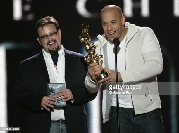 Vin Diesel wins award for Best Game Based On a Movie for The Chronicles of Riddick Escape from Butcher Bay