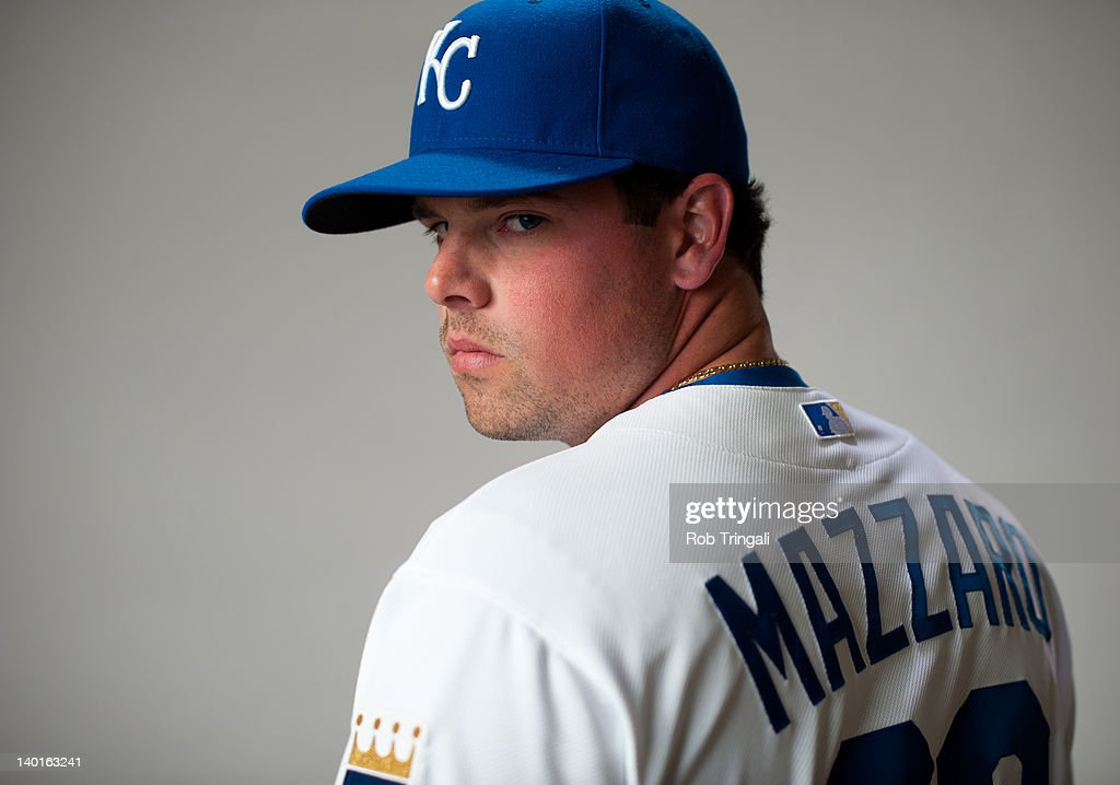 Vin Mazzaro #32 of the Kansas City Royals poses during photo day at the Surprise Sports Complex on February 29, 2012 in Surprise, Arizona.
