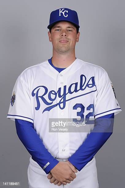 Vin Mazzaro of the Kansas City Royals poses during Photo Day on Wednesday February 29 2012 at Surprise Stadium in Surprise Arizona